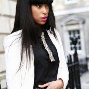Gatsby Neckwear On Fashion Model