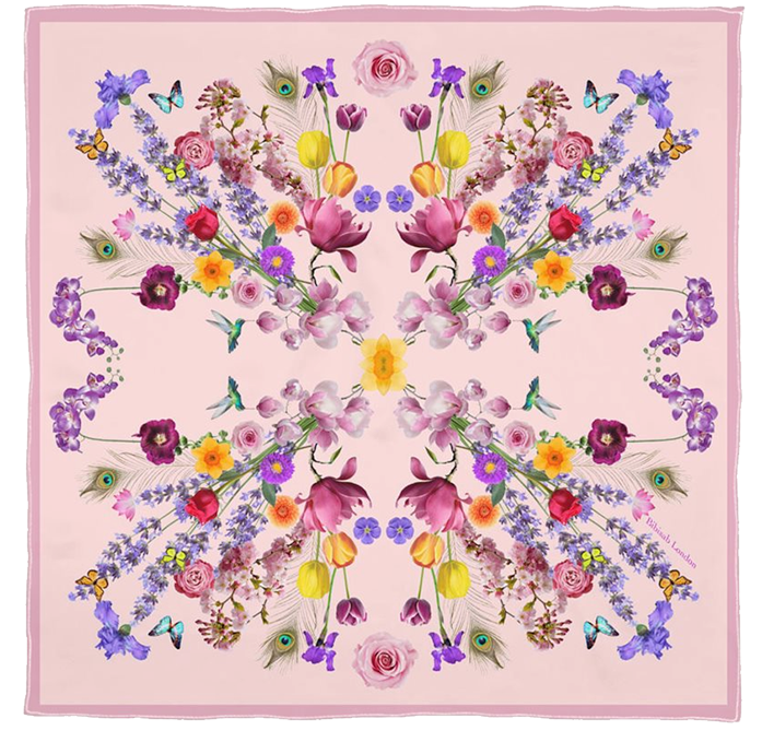 Chelsea flower show scarf