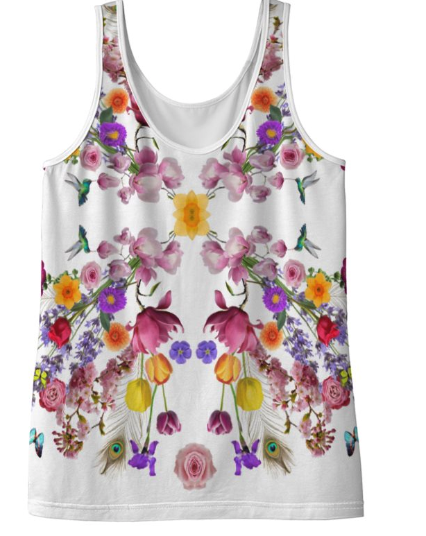 Floral Print Top - Front